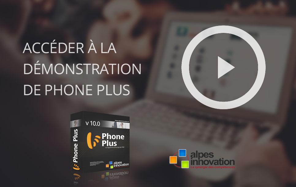 Démo Phone Plus v10 - logiciel téléprospection